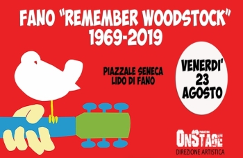 "A Fano il ""Remember Woodstock 1969-2019"""