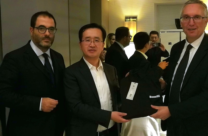 SVIM e Regione Marche incontrano Mr. Xu Zhihao, CEO of Geely Technology Group Co. Ltd.